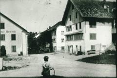 Gasthof Frohberg + Rosinli. Knabe imVG