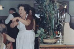 Rest. Frohberg, Wirtin Frau Meier, Hochzeit Erika Berger