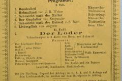 Rest. Frohberg, Konzert + Theater Männer- und Töchterchor Adentschweil