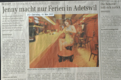 ZO. Jenny macht nur Ferien in Adetswil, Frohberg