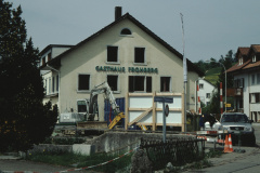 Adetswil, Abbruch Rest. Frohberg