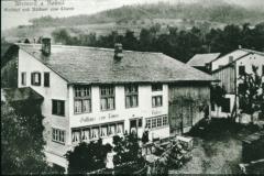 Postkarte Gasthaus Löwen Adetswil