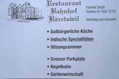 Restaurant Bahnhof, Inserat Männerturntag