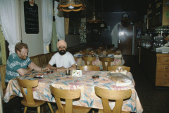 Rest. Bahnhof, E.Abbühl + Restaurateur aus Indien