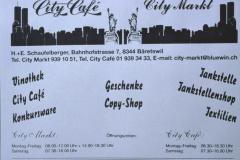 City Café, Inserat Männerturntag