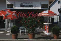 City Café, Gartensitzplätze