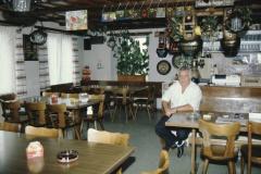 Restaurant Freihof, Wirt Bruno Büchler