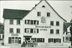 Rest. Linde & Bäckerei vor 1934