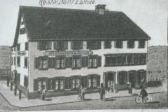 Restaurant Linde, ab Postkarte