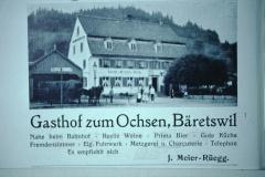 Inserat Restaurant Ochsen