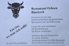 Gasthof Ochsen, Inserat Männerturntag
