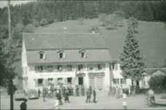 Gasthof und Metzgerei Ochsen, anlässlich Schulhauseinweihung Okt.1952