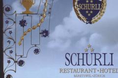 Restaurant Schürli, Wirtshausschild