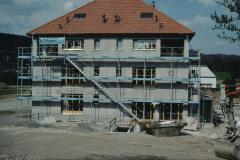 Bau des Motels beim Schürli an der Mühlestr