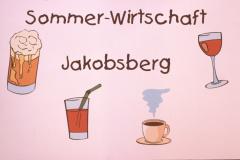 Sommer-Wirtschaft Jakobsberg, erfundenes Inserat
