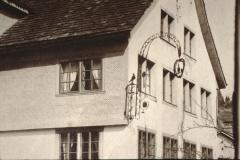 Rest. Walder resp. Pilatusblick, Detail mit Wirtshausschild