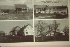 Ansichtskarte Kleinbäretswil - Underhus, Chloschter (mit rt Wirtschaft, Sitzung 1910) und Dörfli (Im Grossen)