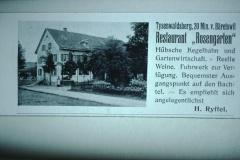 Inserat Rest. Rosengarten