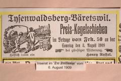 Preis Kegelschieben Tisenwaltsberg