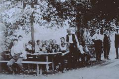 Rest. Rosengarten Tisenwaltsberg, Gartenwirtschaft