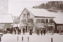 Rest. Kreuzstrasse im Winter