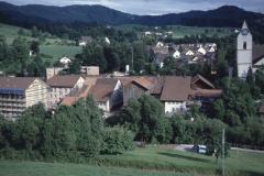 Blick vom Ende Lettenbergstr Rtg Dorf