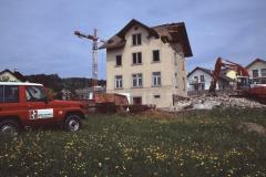 Adetswilerstr, Brunnen wird abgebrochen