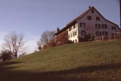 Haus ,Zimmermann' Stapfetenstr mit Baugespann