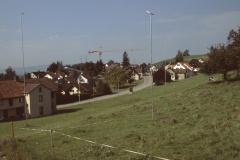 Baugespann bei der Grünau zw. Adetswiler- und Stapfetenstr, Land Brandenberger