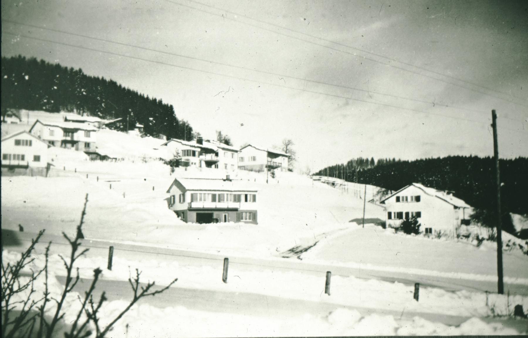 Häuser Strittmatter, Zanini, resp. ehemaliges Lehrerwohnhaus an der Rigistr