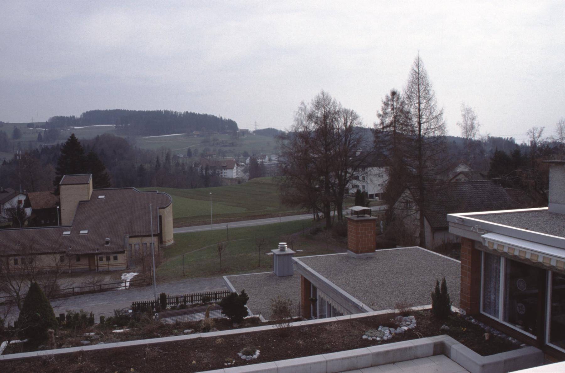 Blick von Haus Rigistr 9 (Zimmermann) Rtg Hinterberg