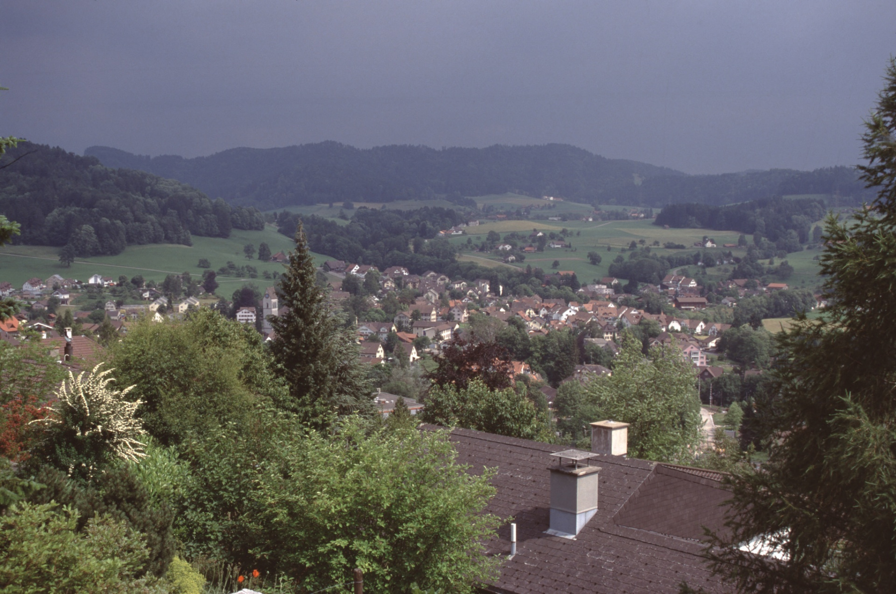 Blick auf das Dorf (Tödistr 35)
