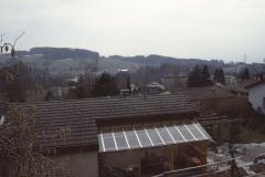 Blick Glärnischstr, Terrasse Haus Knecht Rtg Schürli + Hinterberg