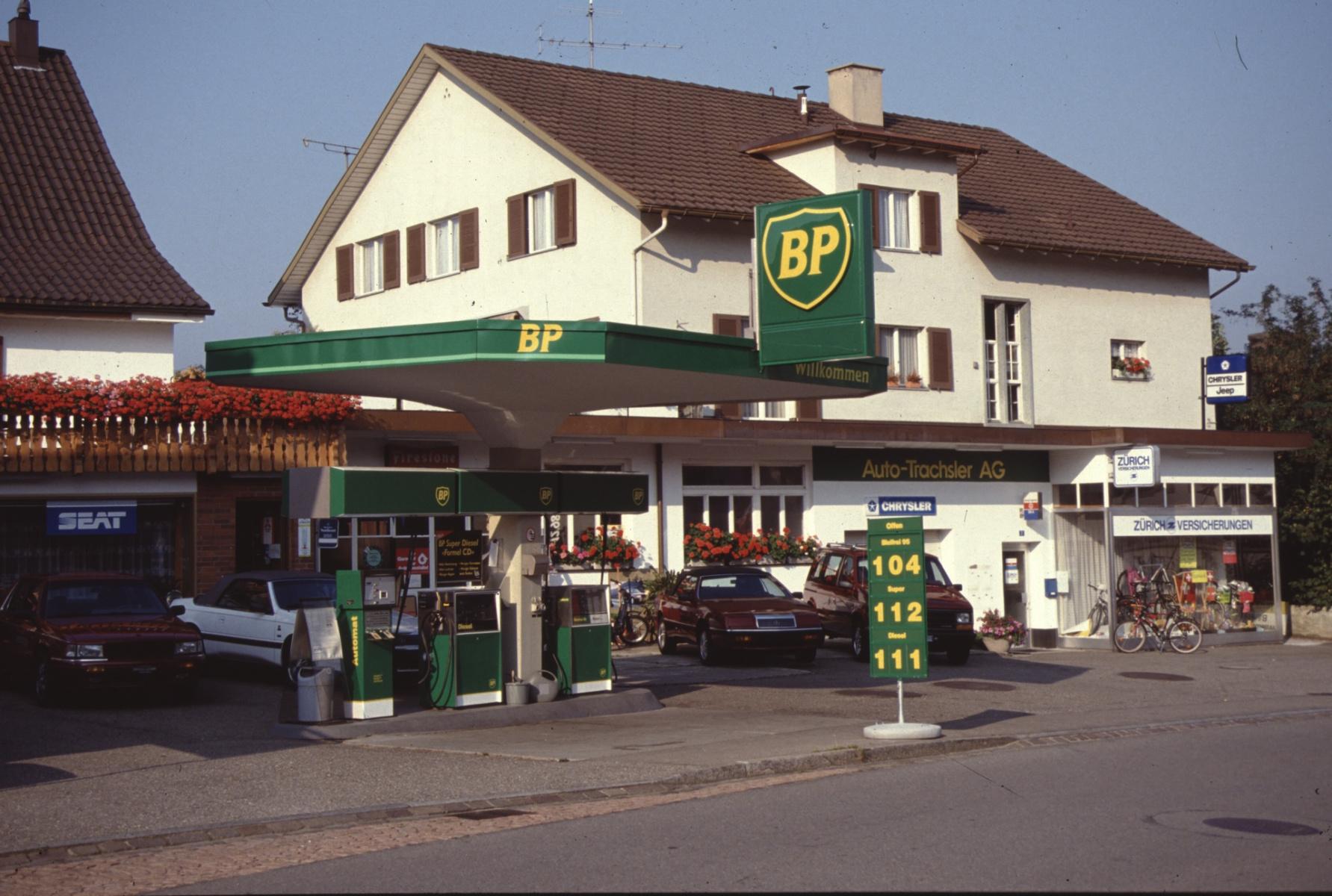 Bahnhofstr 7, Garage Trachsler + 'Zürich-Versicherungen'
