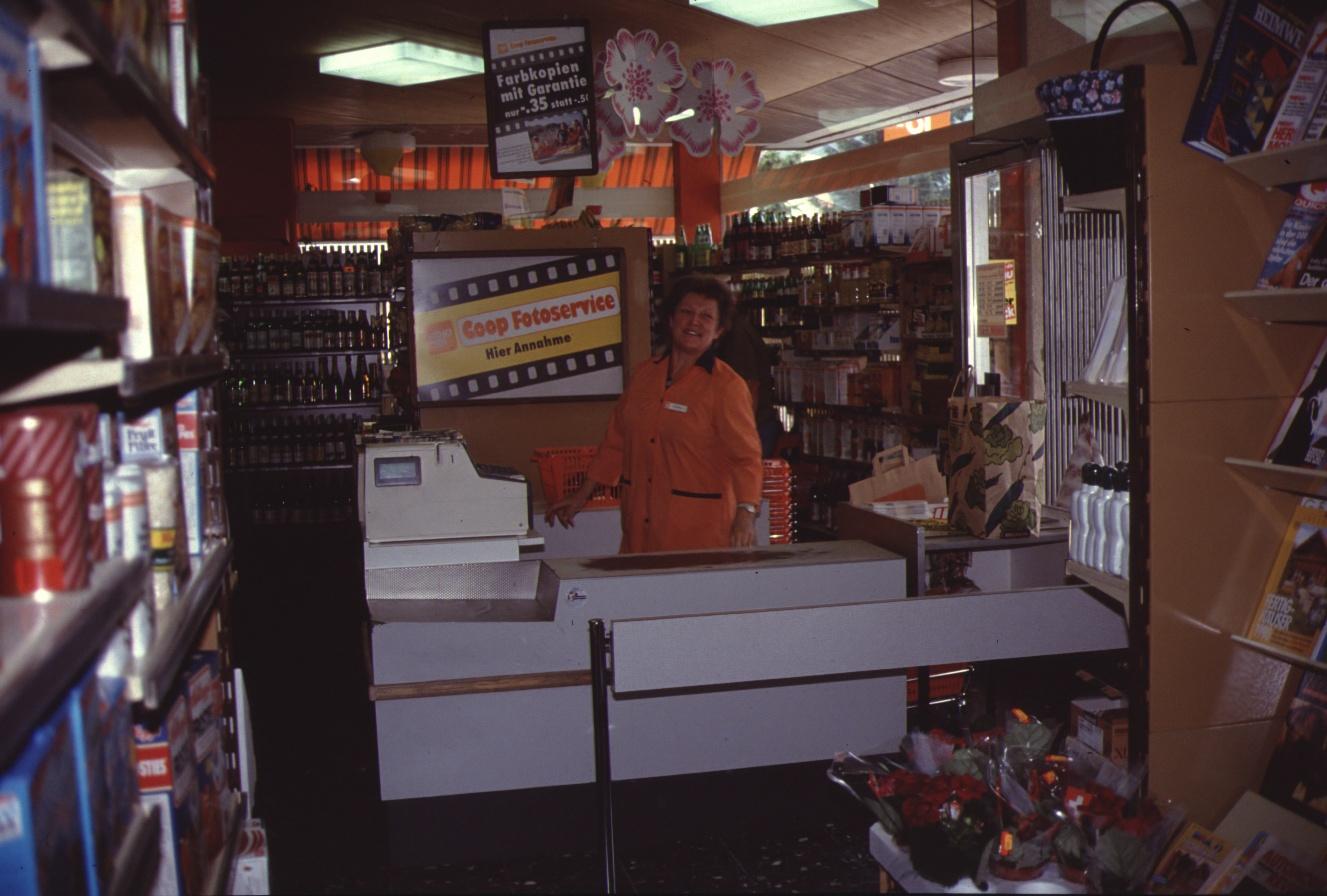 Coop-Laden Frau Dobler