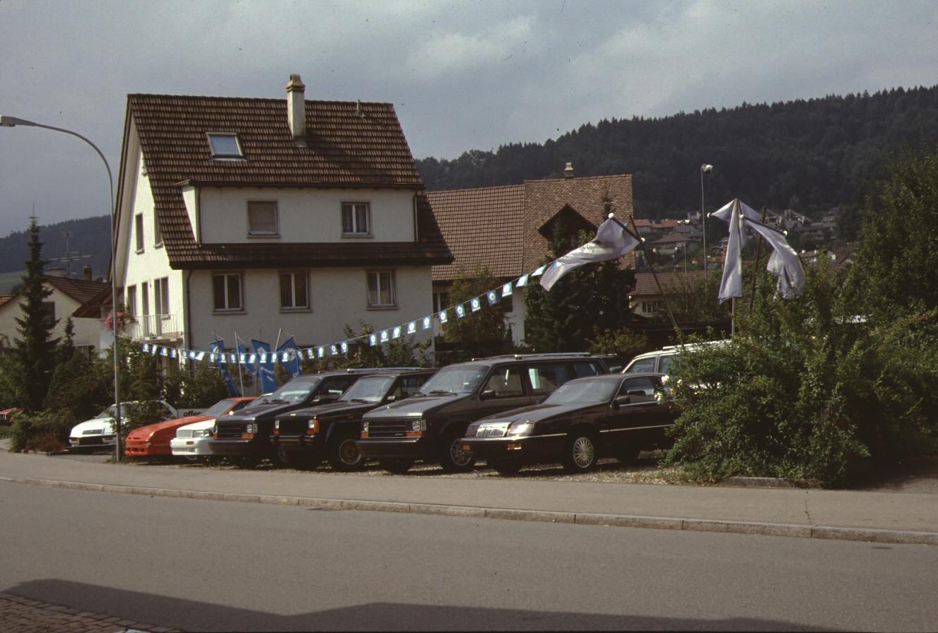 Autoabstellplatz Garage Trachsler