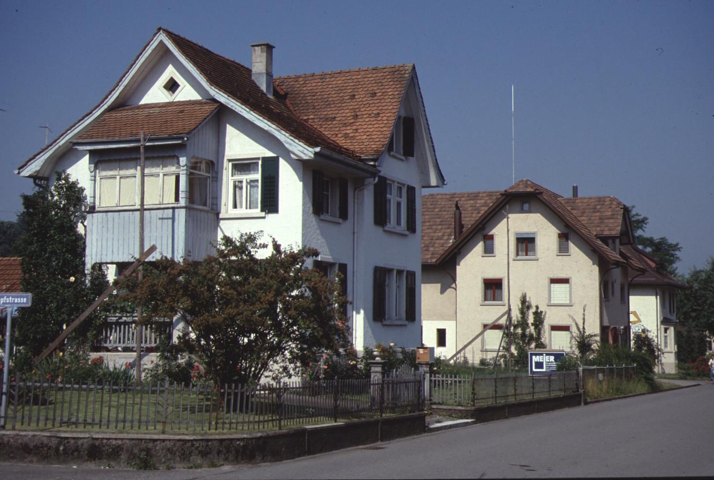 Bahnhofstr, Haus von Schneider Küng, später Buchmann