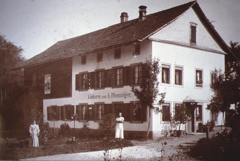 Bahnhofstr, Bäckerei von A. Pfenninger