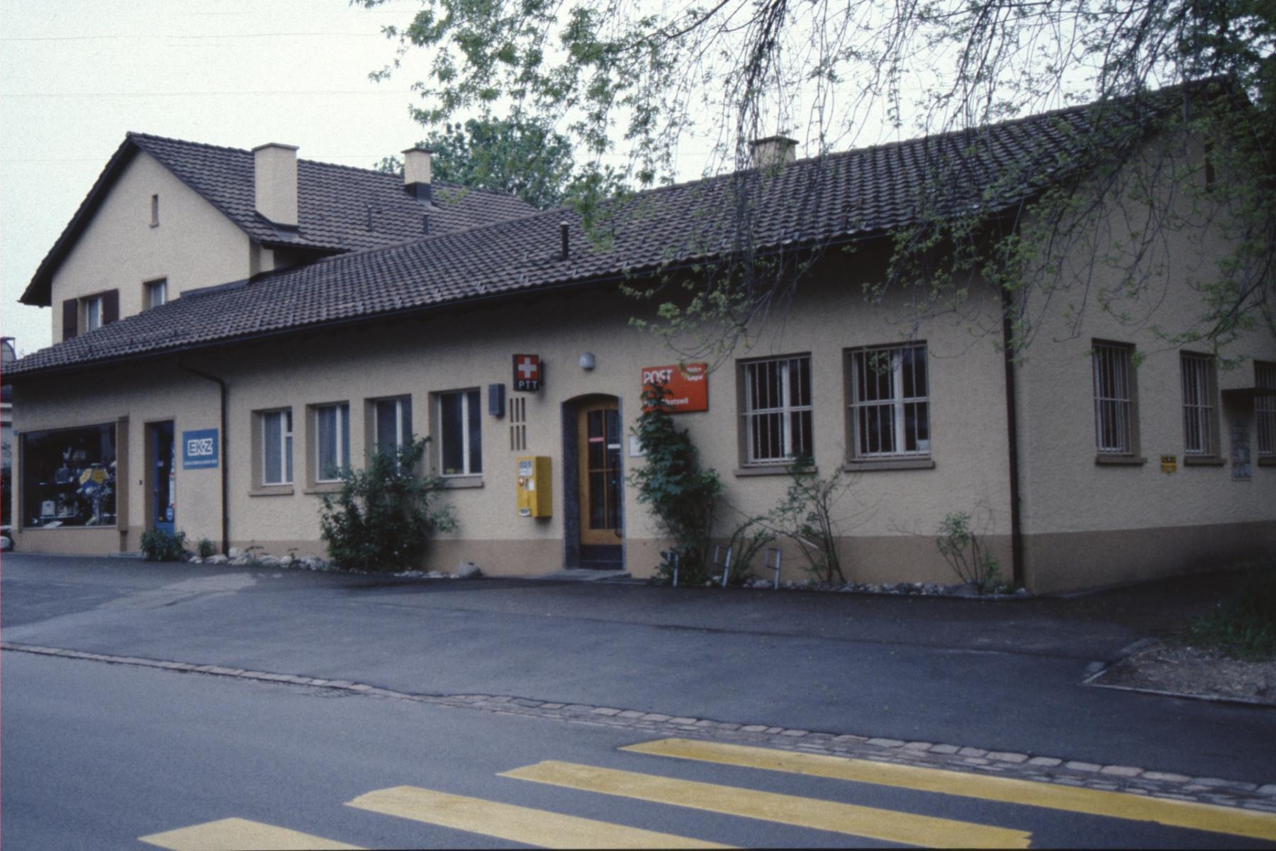 Post Bäretswil (EKZ Gebäude), 1951 - 1987