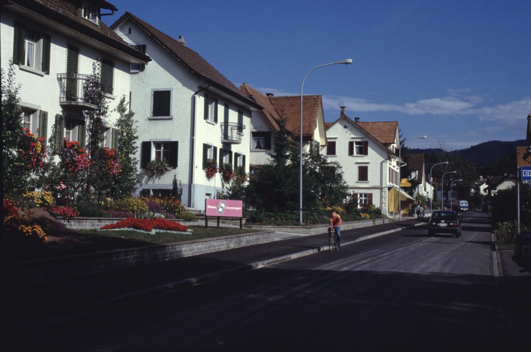 Bahnhofstr 10, Häuser A. Sturzenegger sen. jun., Th. Baumgartner