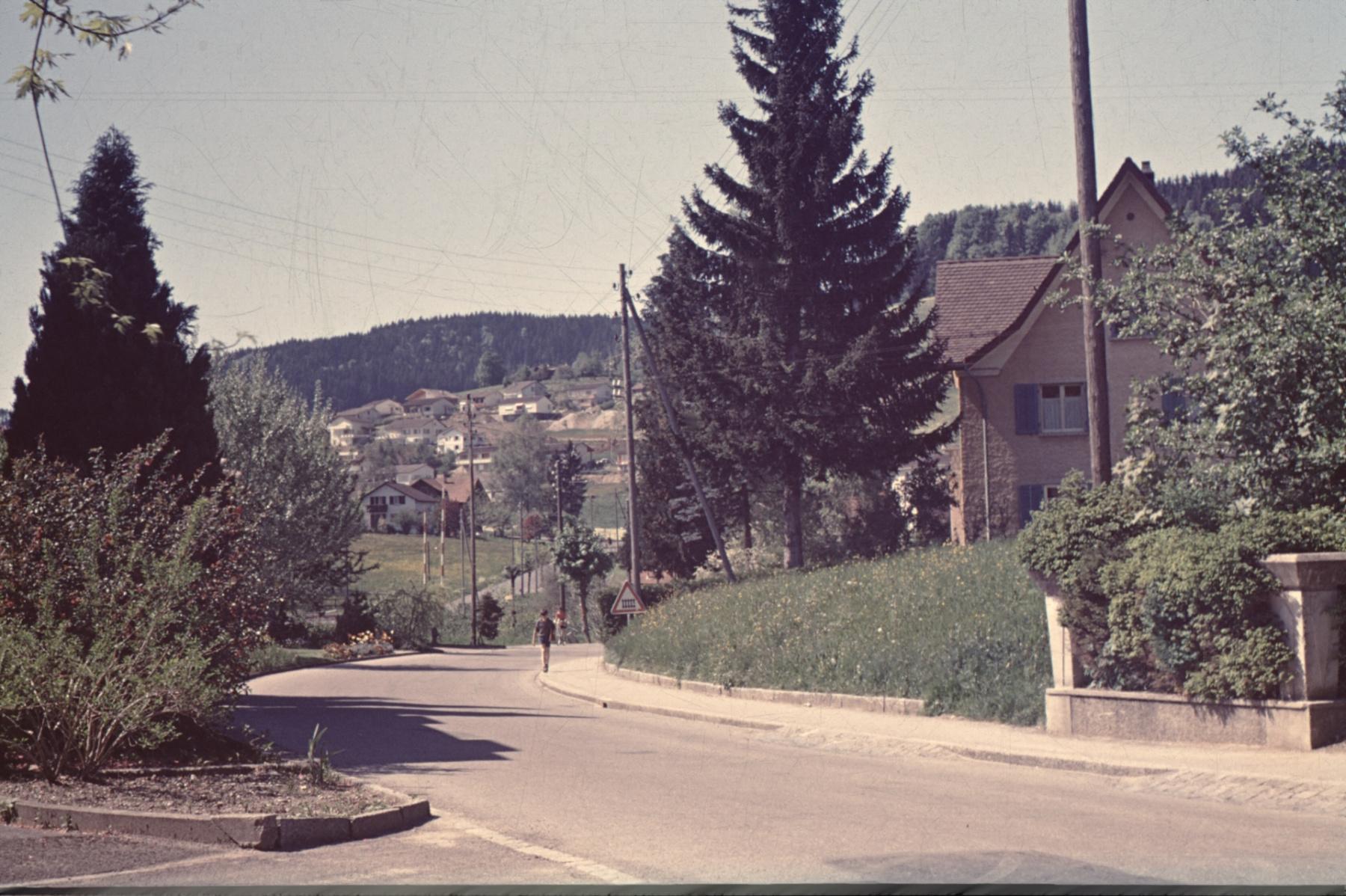 Bahnhofstrasse April 1966