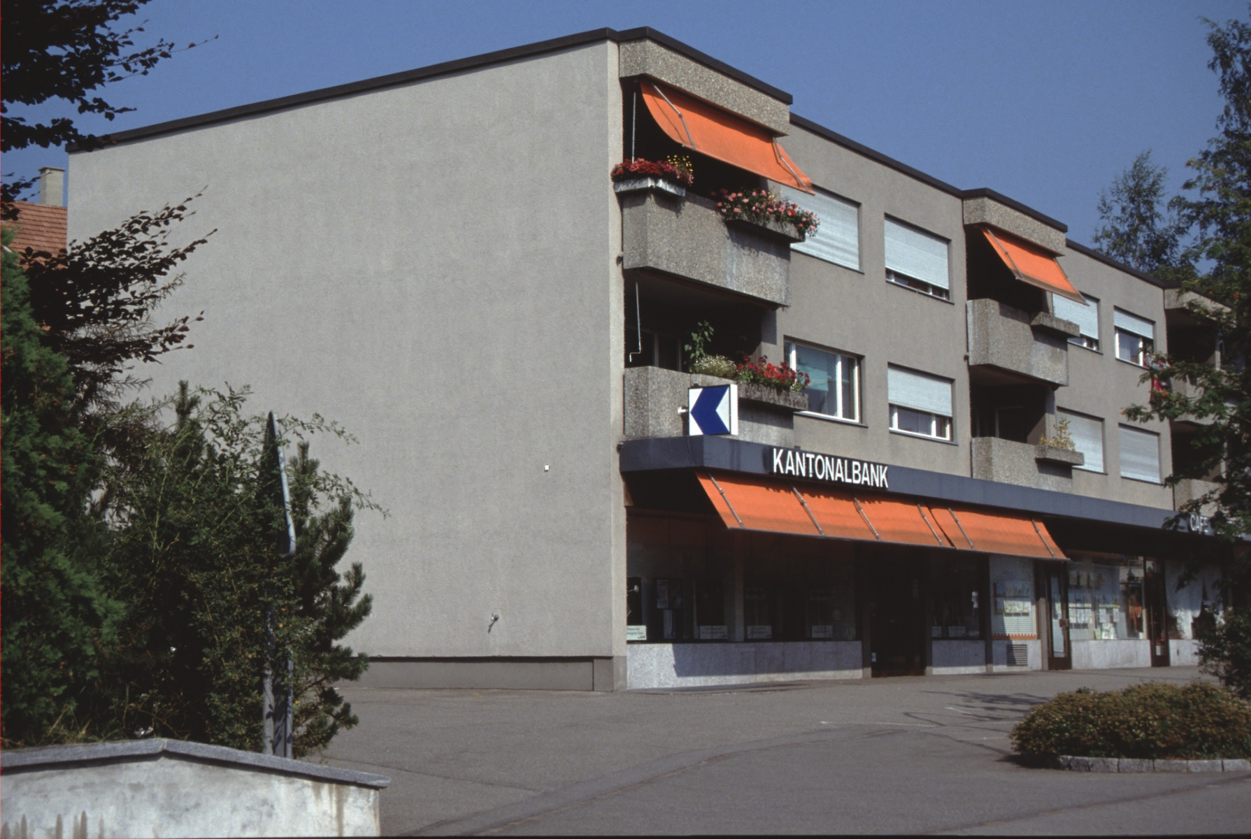 Bahnhofstr 16, Kantonalbank (Längsansicht)