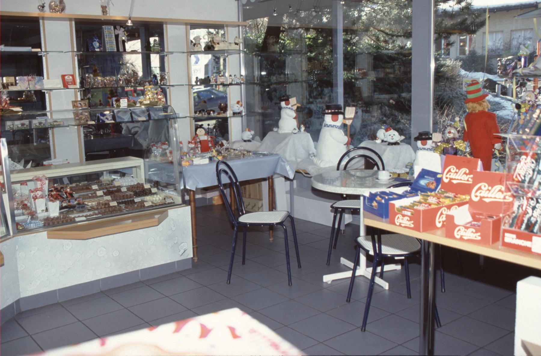 Bäckerei Conditorei Rathgeb (Sitzecke)