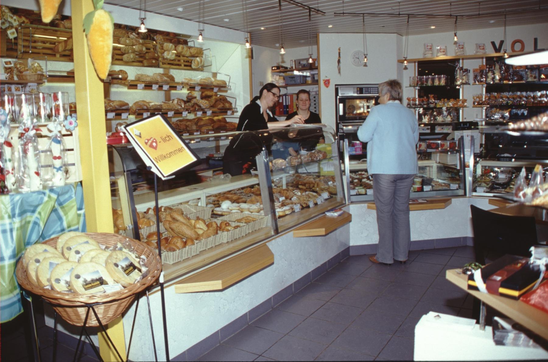 Café-Konditorei- Bäckerei, Voland Broschüre Fassnacht
