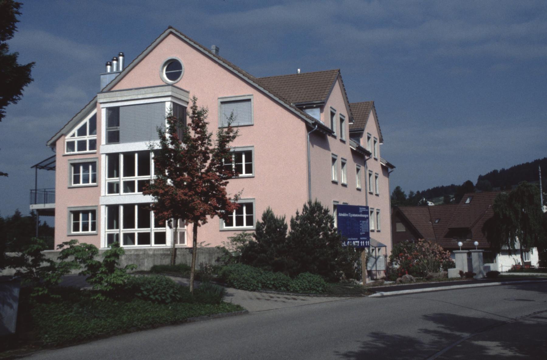 Haus steht, wo Haus Bosshard stand