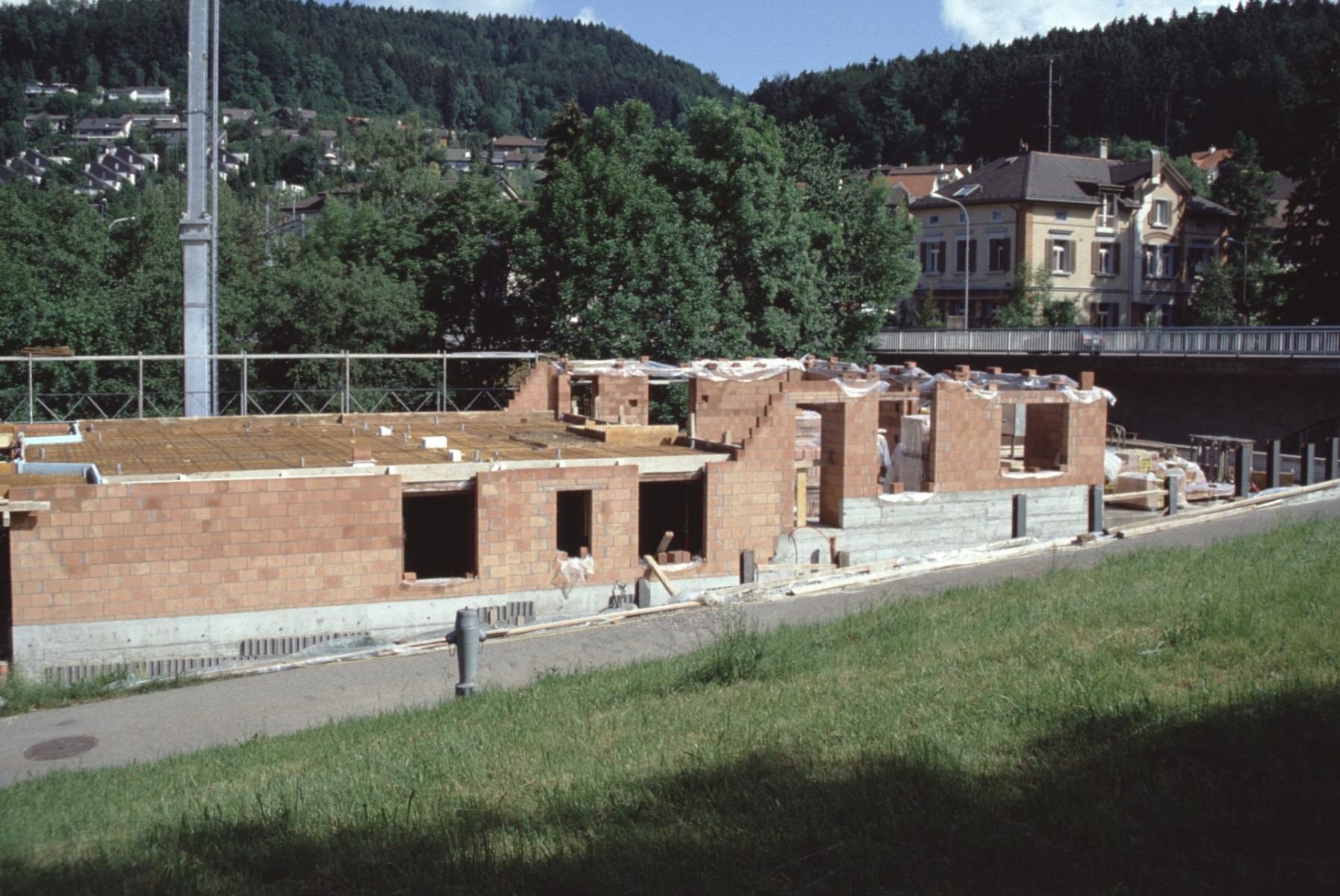 Mühlestr, Neubau vor der Friedhofstr