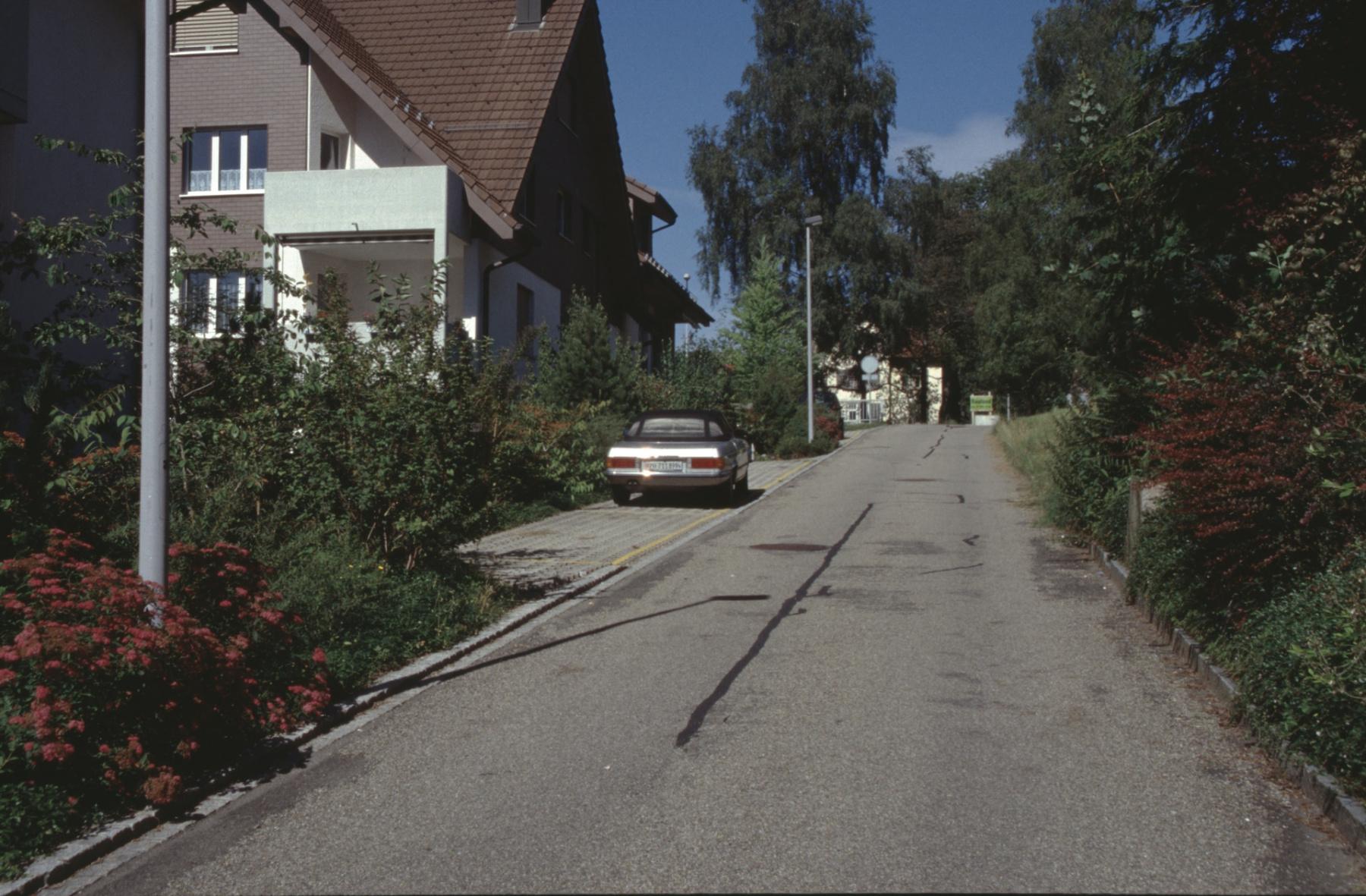 Mühlerainstr, Verbindung Mühle zur Bahnhofstr