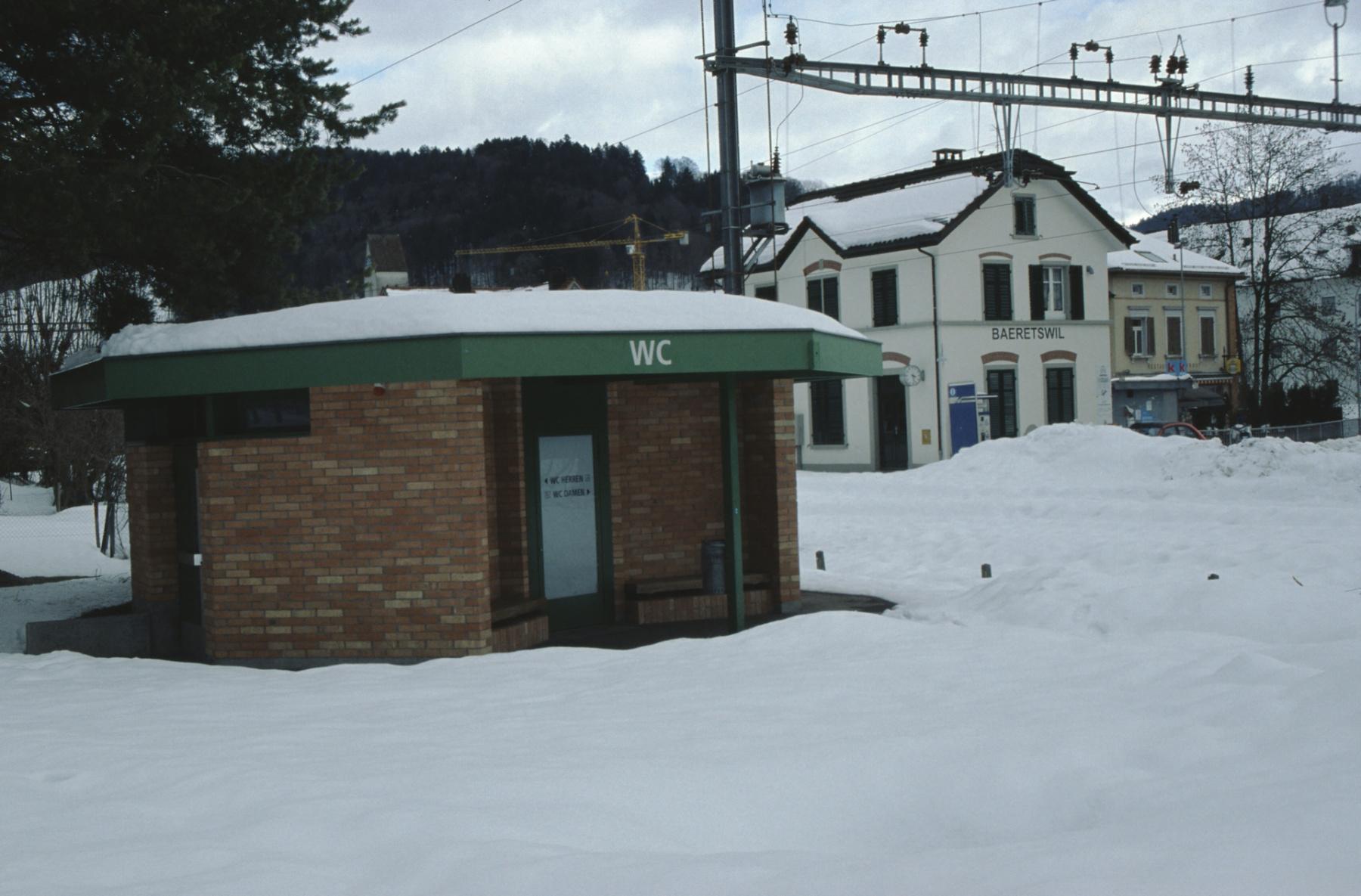 Bahnhofquartier WC-Anlage