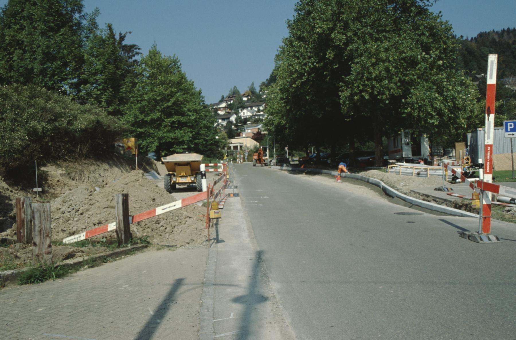 Zwei neue Bushaltestellen im Bau