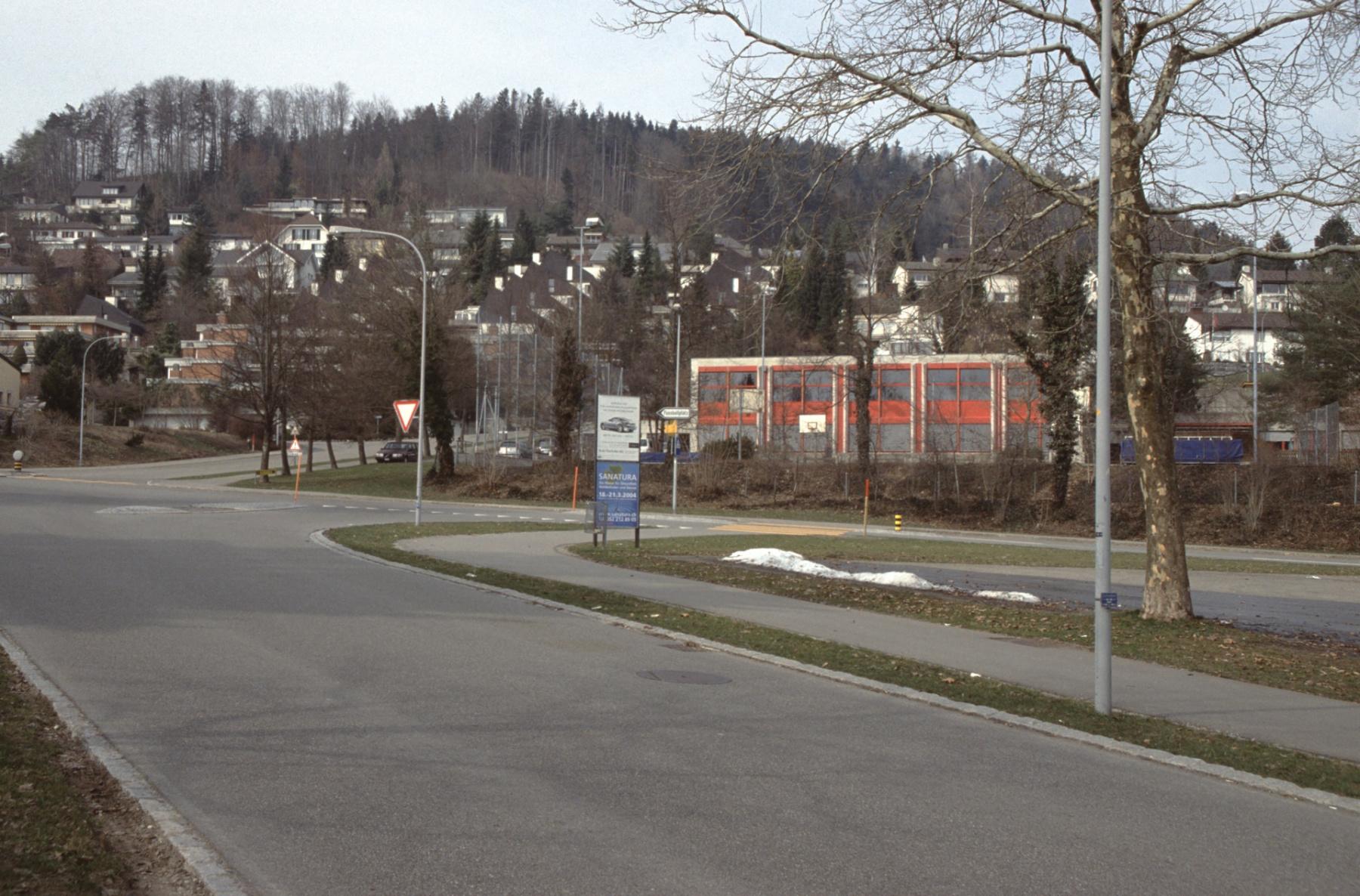 Bahnhofstr. - Engelsteinstr. Kreuzung